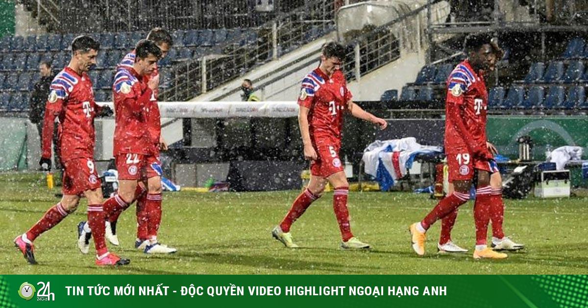 Vua châu Âu Bayern Munich bị tý hon loại sốc: Ác mộng 20 năm tái hiện