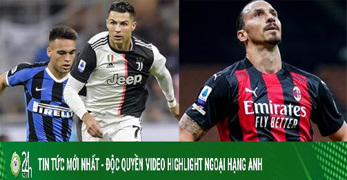 Inter đại chiến Juventus, AC Milan thừa cơ bứt tốc: Cực nóng vòng 18 Serie A