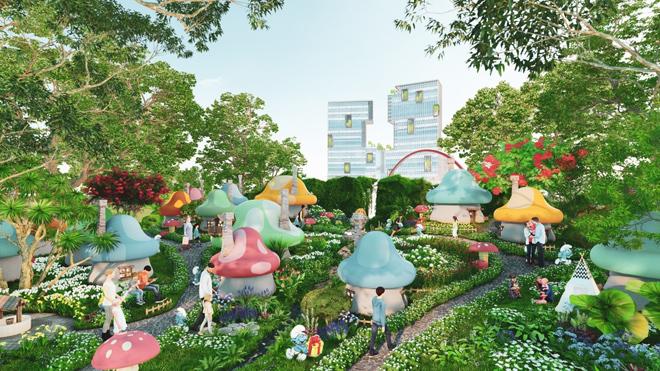 Ecopark triển khai phố đi bộ shopping và giải trí dài 2km tại Hải Dương - 10