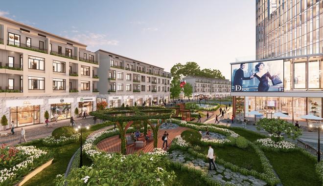 Ecopark triển khai phố đi bộ shopping và giải trí dài 2km tại Hải Dương - 3