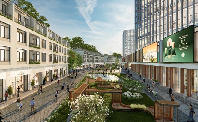 Ecopark triển khai phố đi bộ shopping và giải trí dài 2km tại Hải Dương - 4