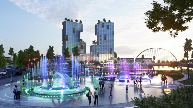 Ecopark triển khai phố đi bộ shopping và giải trí dài 2km tại Hải Dương - 7