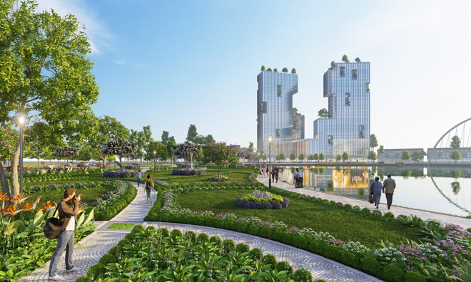 Ecopark triển khai phố đi bộ shopping và giải trí dài 2km tại Hải Dương - 8