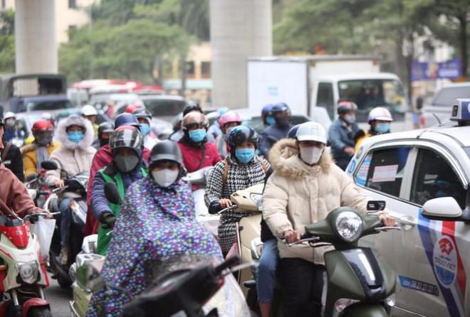 Không khí lạnh tăng cường, Hà Nội và nhiều nơi rét hại trở lại - 1