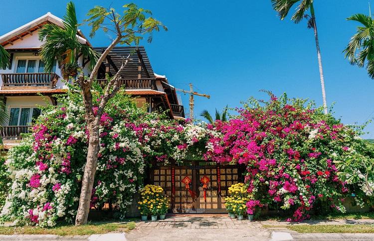 """Căn biệt thự """"phủ gỗ"""" ở Nha Trang, bên trong có cả phòng chiếu phim thu nhỏ - 2"""