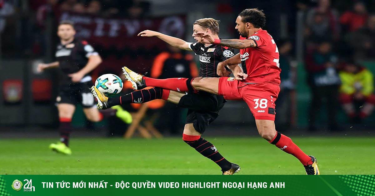 Video Union Berlin - Bayer Leverkusen: Người hùng phút 88, đá văng Dortmund