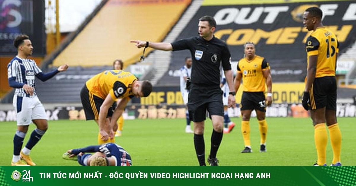 Video Wolves - West Brom: Đòn đau bất ngờ, 5 phút ngược...