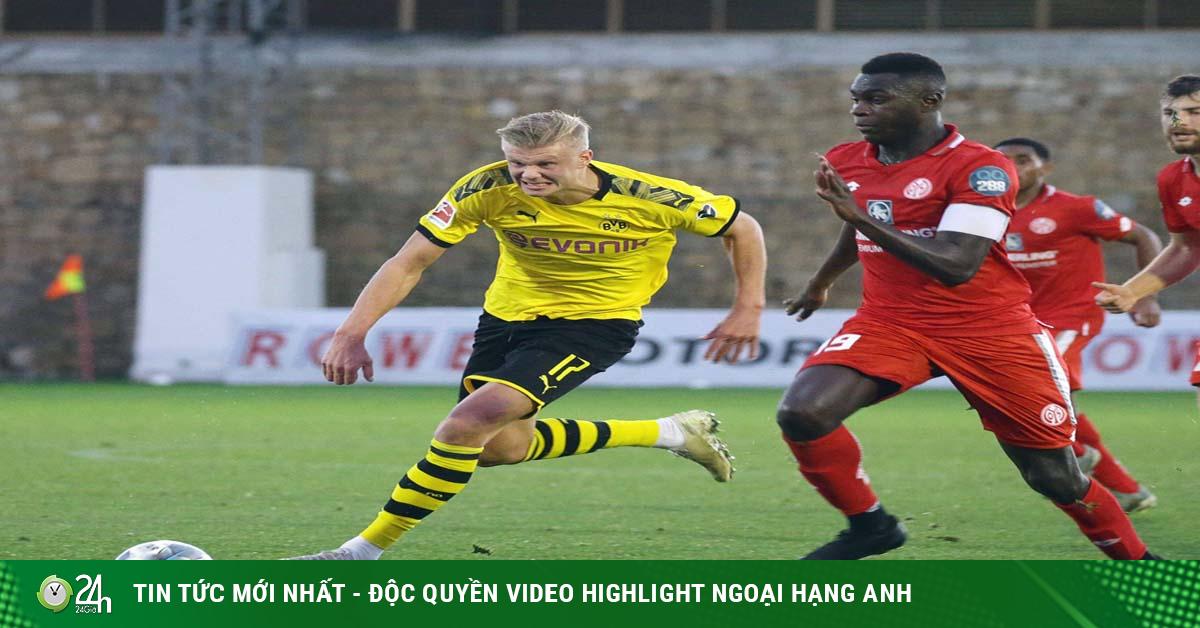 Video Dortmund - Mainz: Haaland bất lực, trai đẹp Reus hóa tội đồ