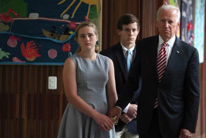 Ông Biden và các thành viên đệ nhất gia đình Mỹ tương lai - 6