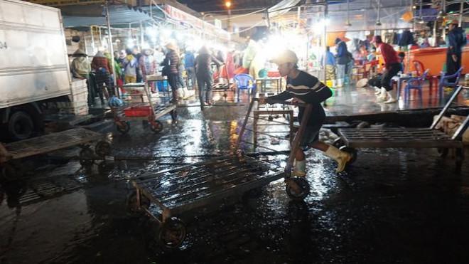 'Đội' rét mưu sinh lúc nửa đêm ở cảng cá lớn nhất miền Trung - 9