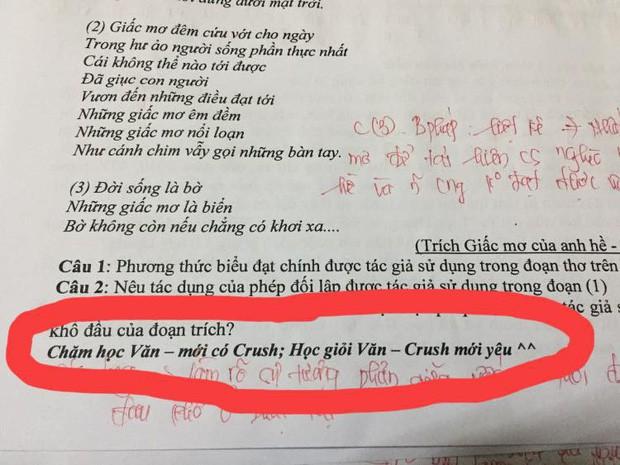 Cô giáo nhắn nhủ điều này trong đề kiểm tra môn Văn, ai nấy lập tức có động lực chăm học - 1
