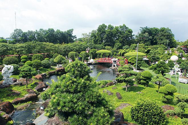 Hồ cá Koi sử dụng nhiều đá bán quýlớn nhất Việt Nam - 5