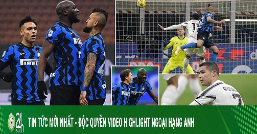 Video Inter Milan - Juventus: Ronaldo tịt ngòi, đòn phản công choáng váng