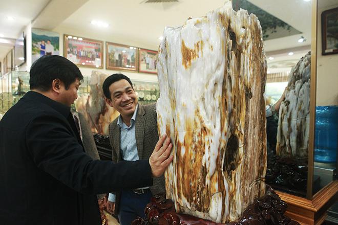 Bộ sưu tập gỗ hóa ngọc độc nhất vô nhị ở Việt Nam - hình ảnh 2