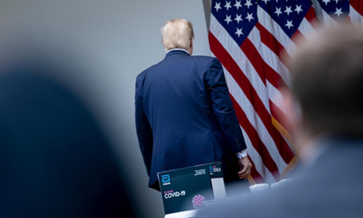 Người Trung Quốc tạm biệt ông Trump với cảm xúc lẫn lộn