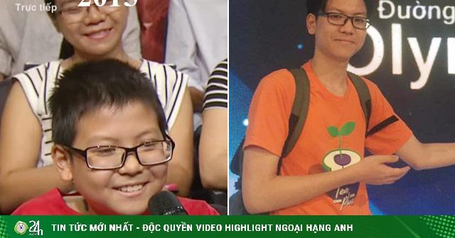 Cậu bé 5 năm trước là khán giả, 5 năm sau trở thành thí sinh Olympia