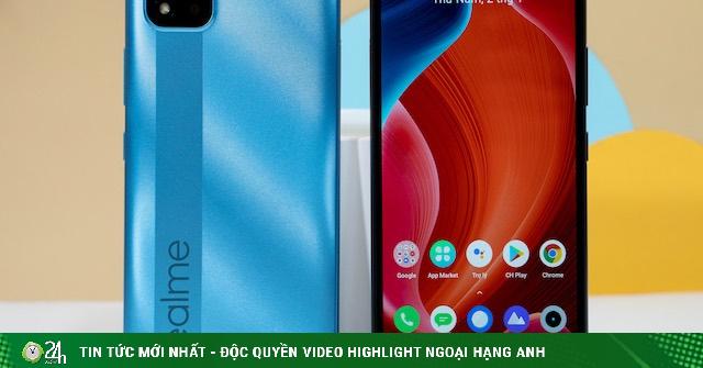 Xuất hiện smartphone Realme C20 giá rẻ với màn hình lớn, pin khủng