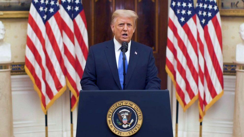 Ông Trump nói lời từ biệt trước ngày rời Nhà Trắng - 1