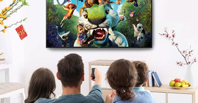 Xem phim và bóng đá tại nhà: Không thể thiếu TV Sony BRAVIA