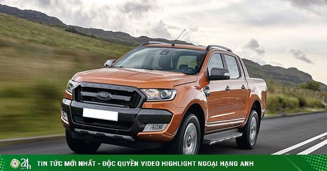Giá xe Ford Ranger lăn bánh tháng 1/2021, giảm 20 triệu đồng