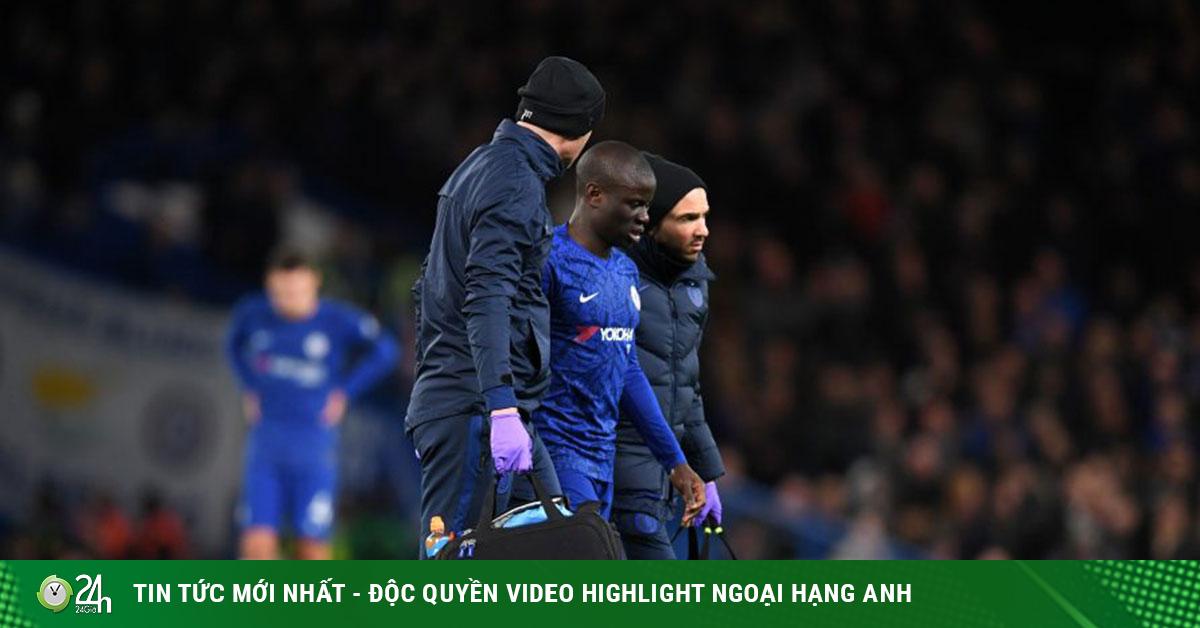 Tin mới nhất bóng đá sáng 24/1: Chelsea mất Kante ở FA Cup