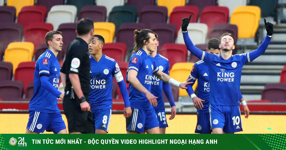 Video Brentford - Leicester City: Ong đốt đầu trận, ngược dòng đẳng cấp