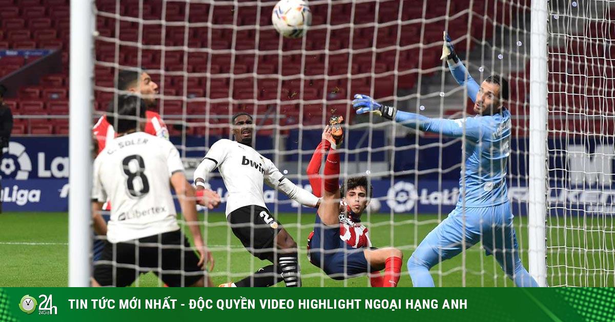 Video Atletico Madrid - Valencia: Siêu phẩm bất ngờ, ngược dòng chóng vánh