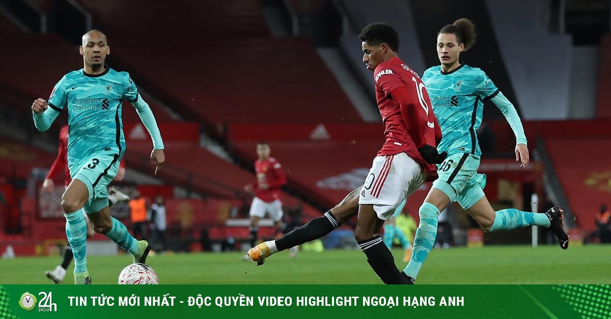 Video bóng đá MU - Liverpool: Người hùng đá phạt, rượt đuổi 5 bàn kịch tính