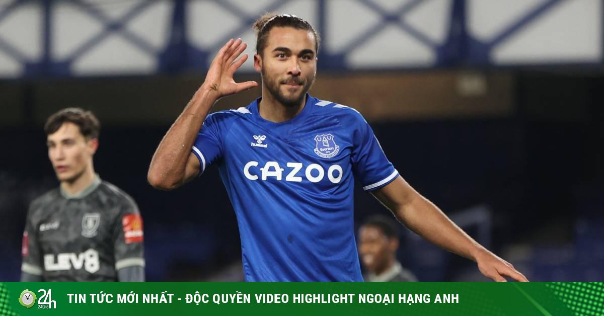Video Everton - Sheffield Wednesday: Thần tài Calvert-Lewin mở màn đại tiệc