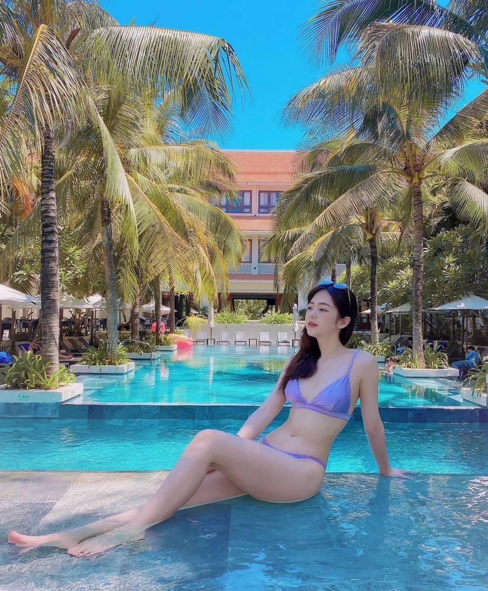 """Tình cũ của Trịnh Thăng Bình được khen tấm tắc """"không quá cao nhưng body quá nuột"""" - 6"""