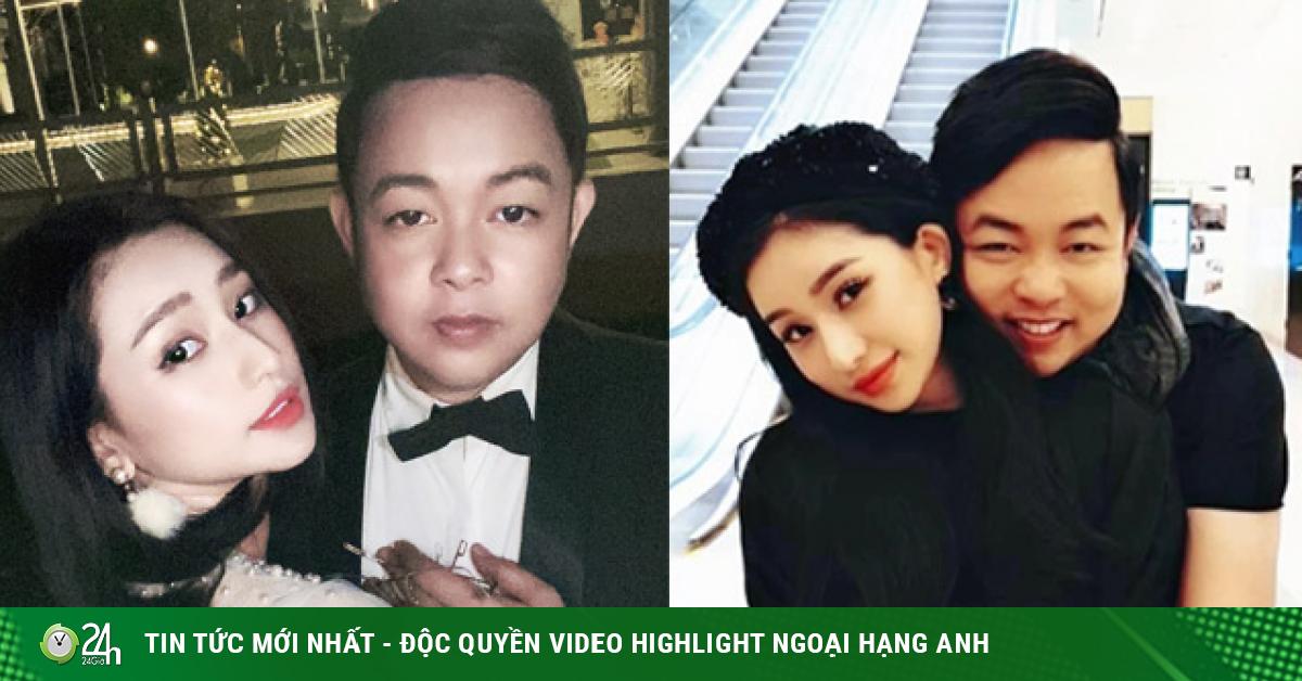 Cô gái được Quang Lê công khai ôm ấp tình tứ hóa ra là người quen showbiz
