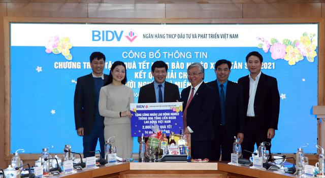 BIDV dành 30 tỷ đồng tặng quà Tết cho người nghèo - 1