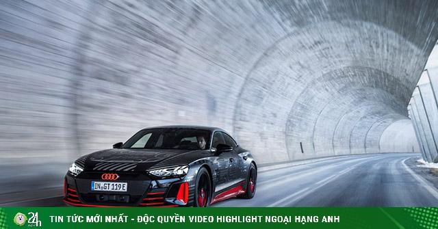 Audi e-tron GT chốt lịch ra mắt, coupé 4 cửa chạy điện