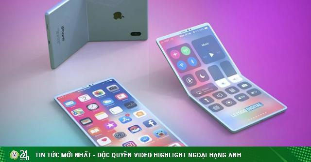 Apple đã sẵn sàng công nghệ, iFan sắp có iPhone gập lại