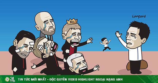 Ảnh chế: Lampard bị sa thải, ngoại hạng Anh tiếc nuối kho điểm Chelsea