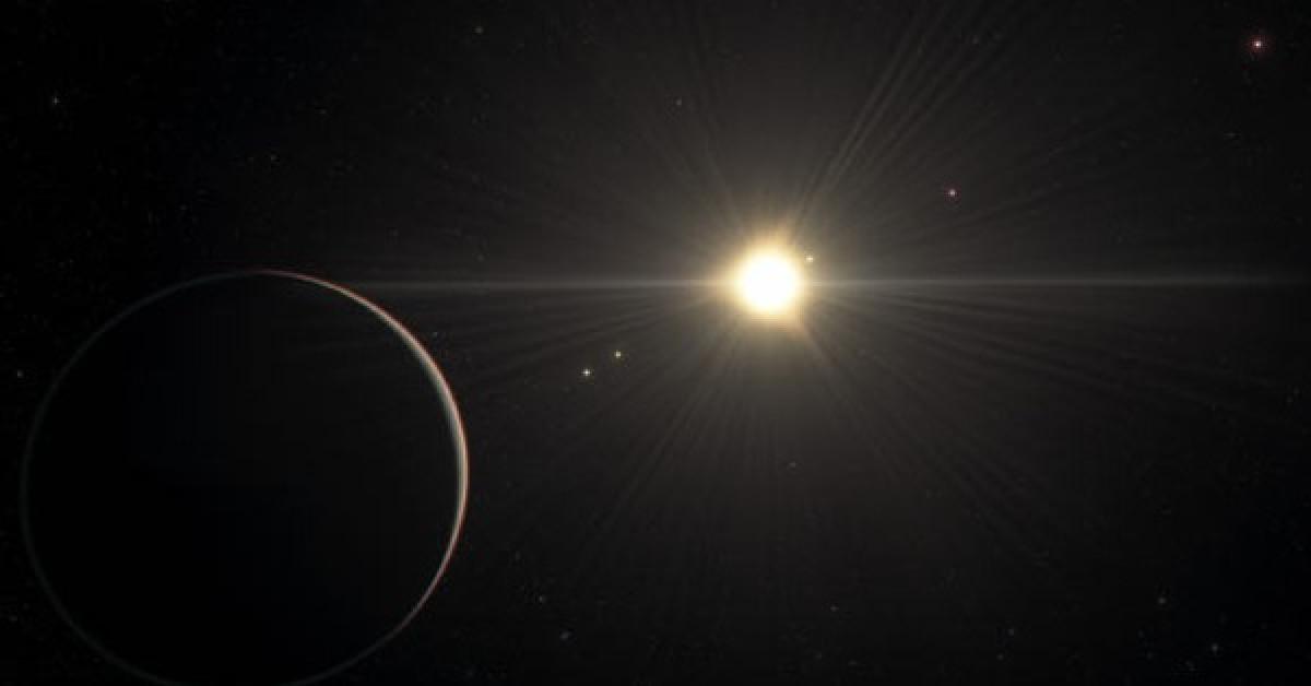 """Kinh ngạc """"hệ mặt trời"""" đẹp nhất vũ trụ, có hành tinh giống Trái Đất - 1"""