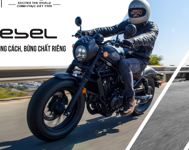Honda tung loạt môtô phân khối lớn CB650R, CB500X và Rebel 500 - 10