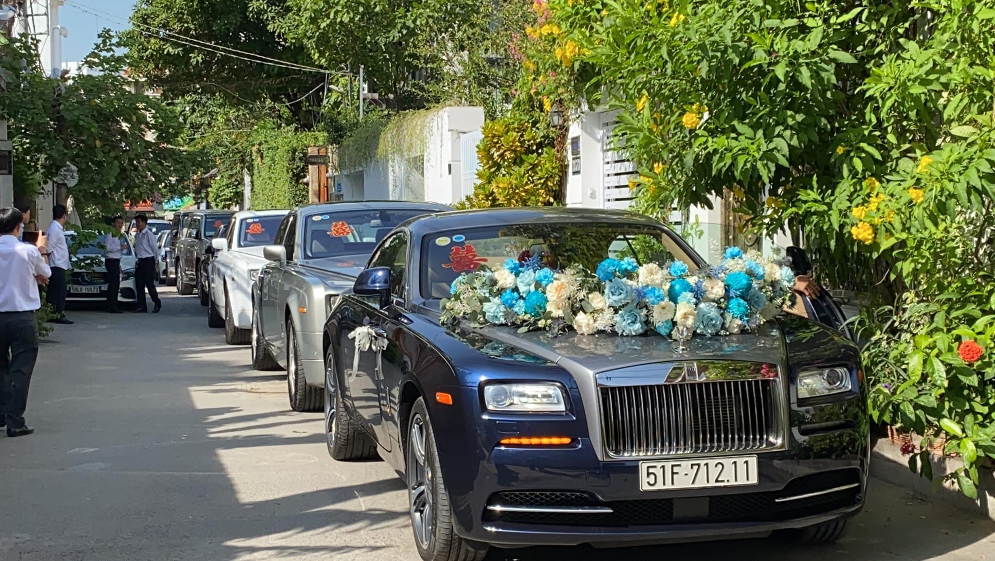 Đám cưới con ông chủ Saigon Square: Dàn siêu xe 200 tỷ, Cường Đôla, Mai Phương Thúy đến dự - 6