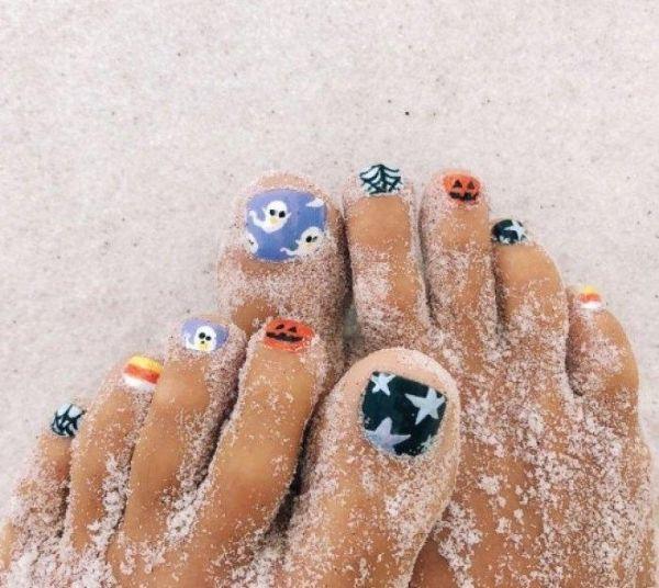 Những mẫu móng chân đẹp dễ thương đơn giản được yêu thích nhất hiện nay - hình ảnh 12