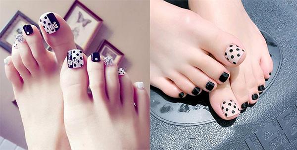 Những mẫu móng chân đẹp dễ thương đơn giản được yêu thích nhất hiện nay - hình ảnh 15