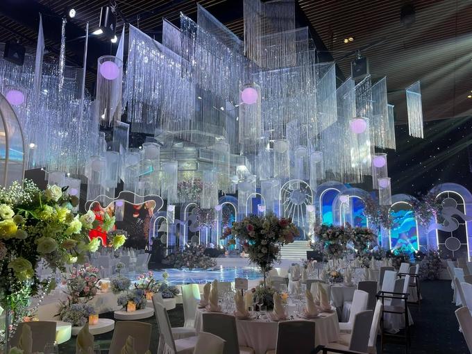 Đám cưới con ông chủ Saigon Square: Dàn siêu xe 200 tỷ, Cường Đôla, Mai Phương Thúy đến dự - 12