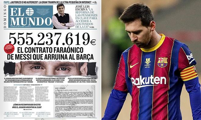 Messi bị lộ hợp đồng: HLV Koeman quyết