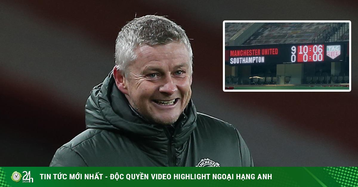 Rực lửa bảng xếp hạng Ngoại hạng Anh: MU đại thắng có vượt được Man City?