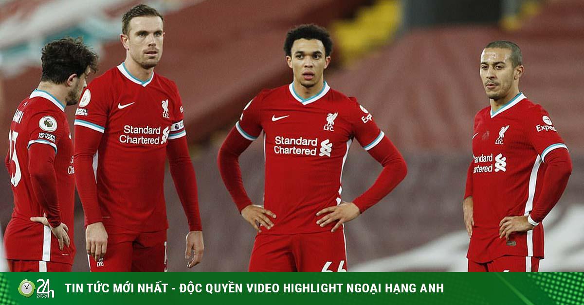Cực nóng bảng xếp hạng Ngoại hạng Anh: Liverpool sảy chân, có giữ được top 4?