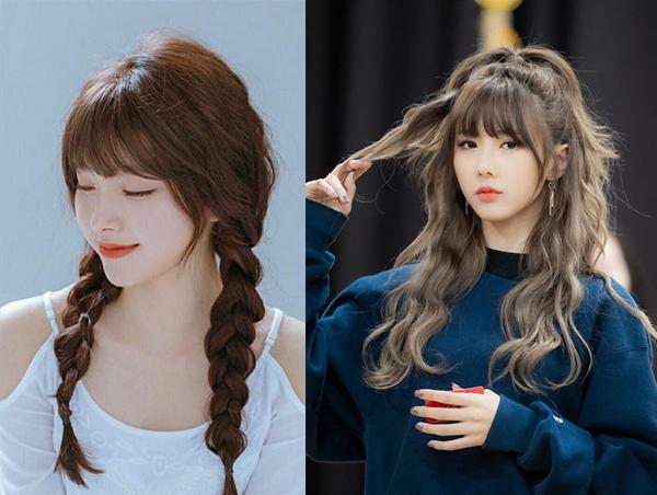 20 kiểu tóc mái đẹp cho nữ hot nhất dẫn đầu xu hướng hiện nay - hình ảnh 9