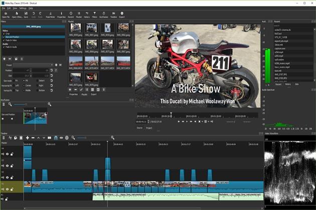 phần mềm chỉnh sửa video nhẹ