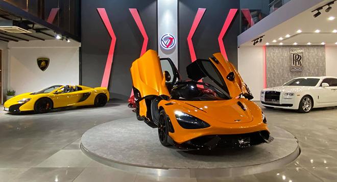 McLaren 765LT đầu tiên về Việt Nam, xe chơi bản giới hạn giá trên 33 tỷ đồng - 1
