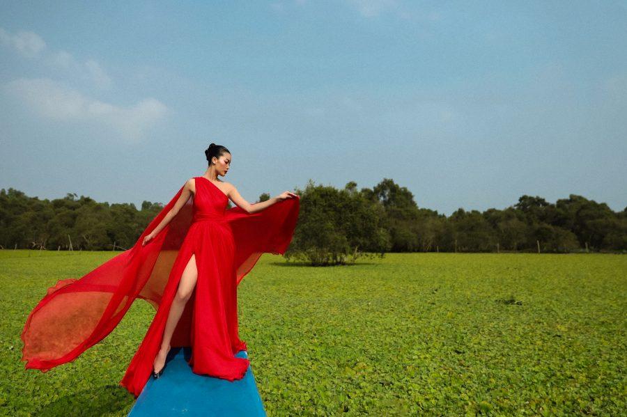 Người mẫu An Giang biến hóa uyển chuyển trong bộ ảnh thời trang tại quê hương - 1