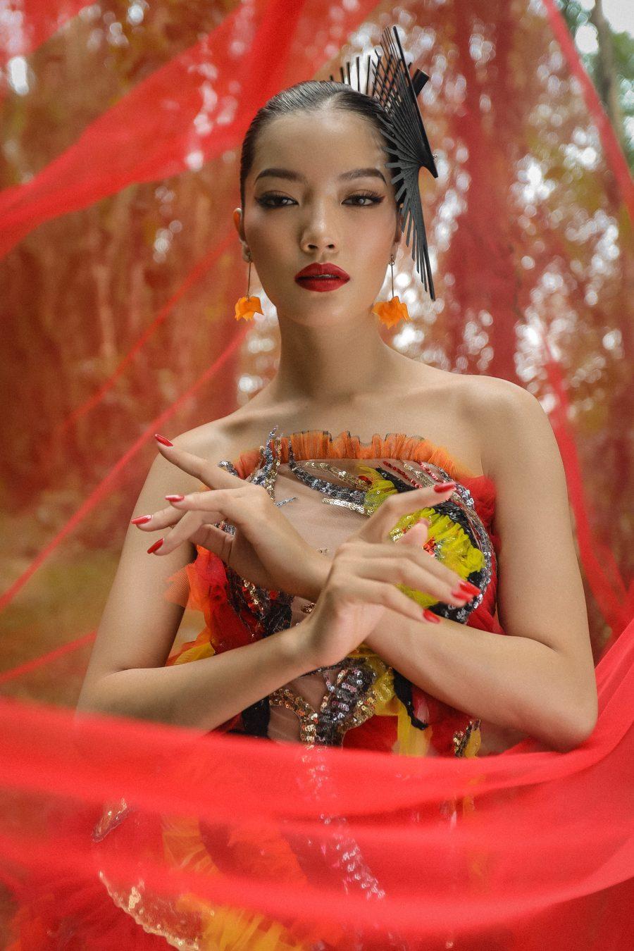 Người mẫu An Giang biến hóa uyển chuyển trong bộ ảnh thời trang tại quê hương - 3
