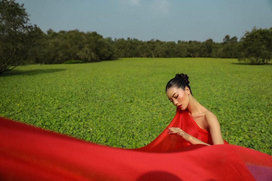 Người mẫu An Giang biến hóa uyển chuyển trong bộ ảnh thời trang tại quê hương - 2